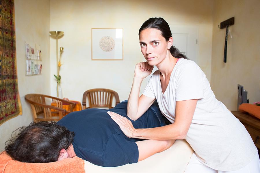 Heilpraktikerin Jasmin Haupt Behandlung Schmerztherapie